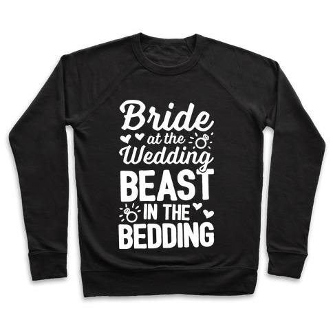 Bride At The Wedding Pullover