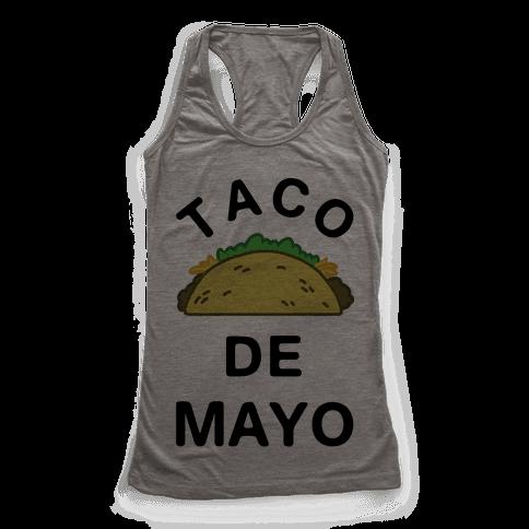 Taco De Mayo Racerback Tank Top
