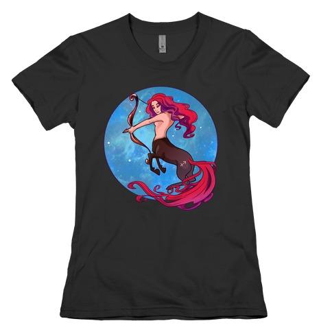 Zodiac Sagittarius Womens T-Shirt