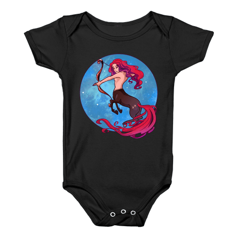 Zodiac Sagittarius Baby Onesy
