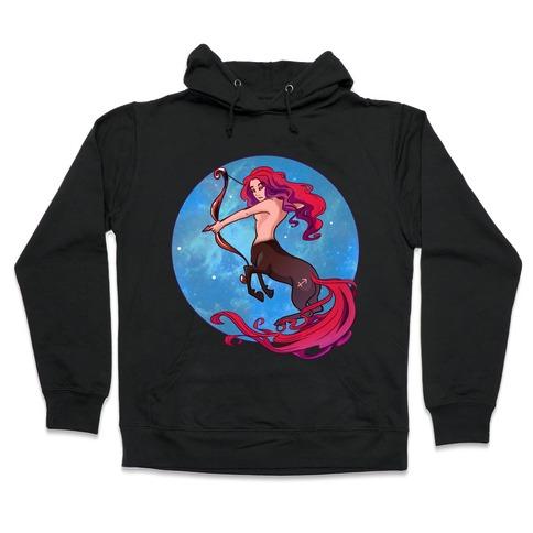 Zodiac Sagittarius Hooded Sweatshirt