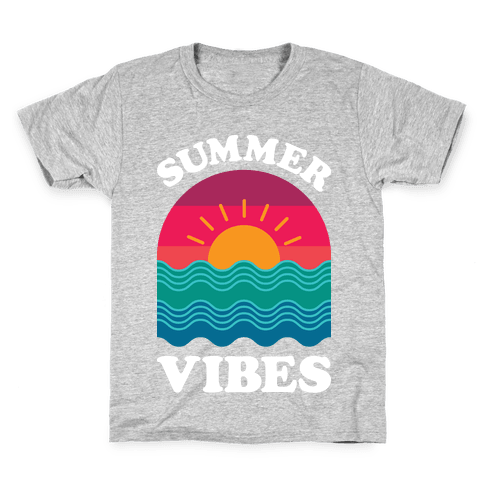 Summer Vibes Kids T-Shirt