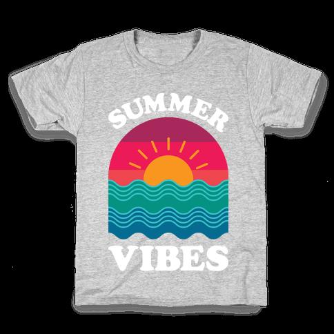 Summer Vibes Kids T-Shirt
