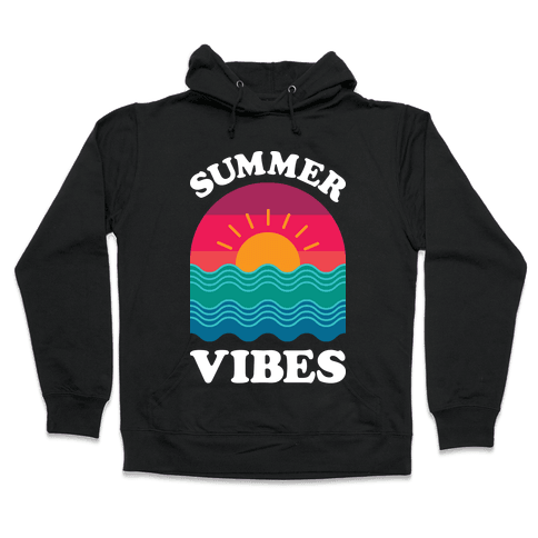 Summer Vibes Hooded Sweatshirt