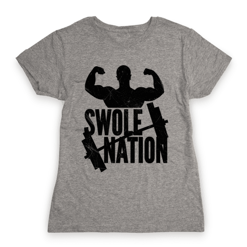 Swole Nation Womens T-Shirt