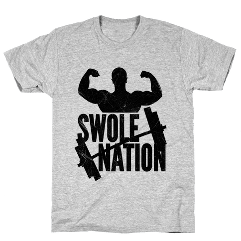 Swole Nation Mens T-Shirt
