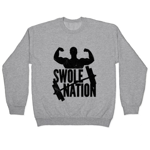 Swole Nation Pullover