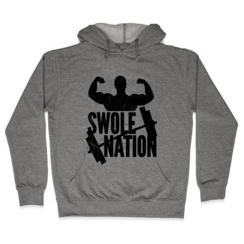 Swole Nation Hooded Sweatshirt