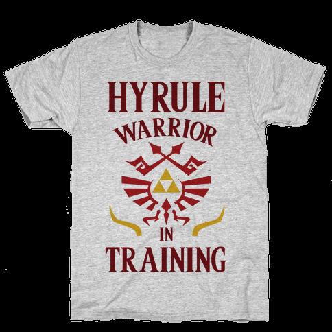 Hyrule Warrior In Training Mens T-Shirt