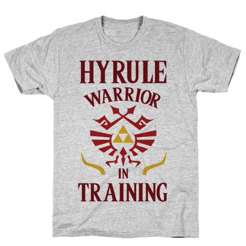 Hyrule Warrior In Training Mens T-Shirt