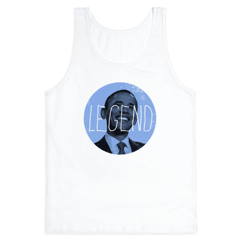 Obama the Legend Tank Top