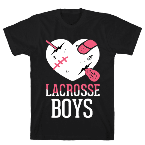 Lacrosse Boys Mens T-Shirt