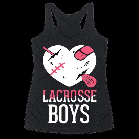 Lacrosse Boys Racerback Tank Top