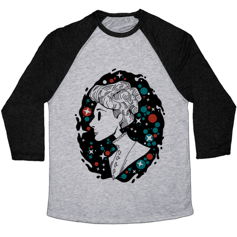 Portrait of Annie Jump Cannon Baseball Tee