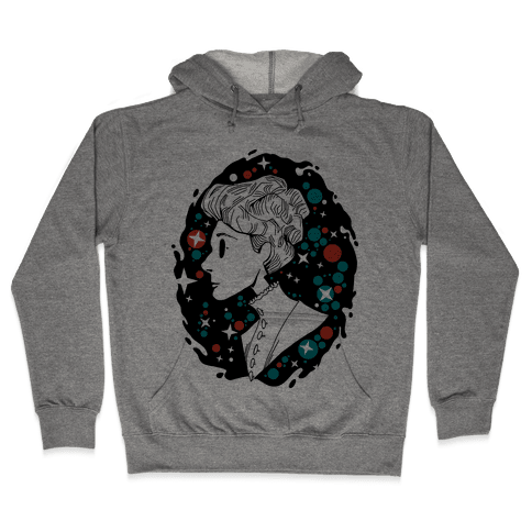 Portrait of Annie Jump Cannon Hooded Sweatshirt