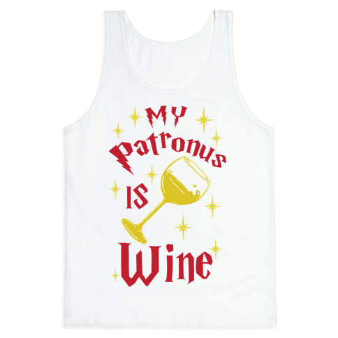 My Patronus Is Wine Tank Top