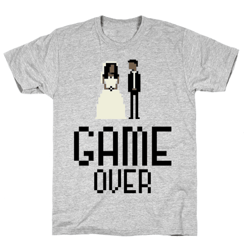 Game Over Mens T-Shirt