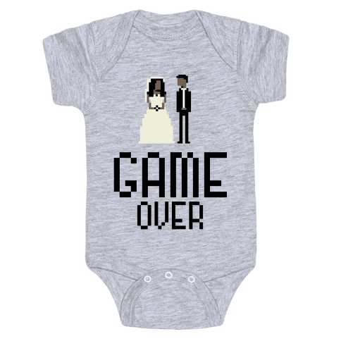 Game Over Baby Onesy