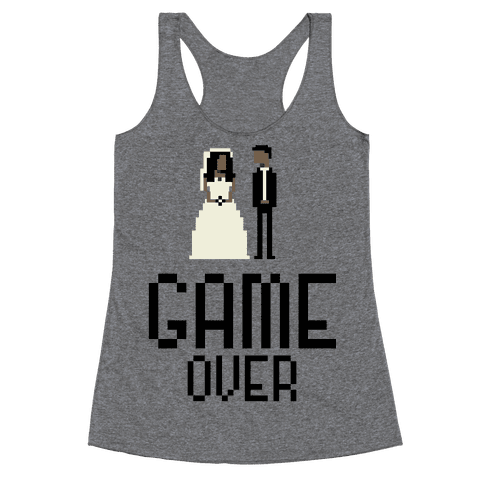 Game Over Racerback Tank Top