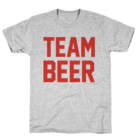 Team Beer Mens T-Shirt