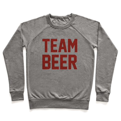 Team Beer Pullover
