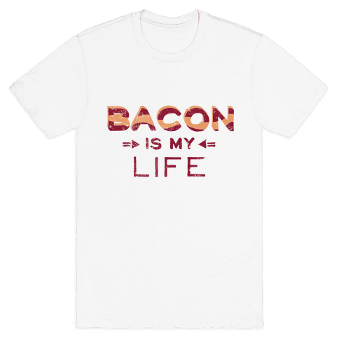 Bacon Is My Life (Vintage) Mens T-Shirt