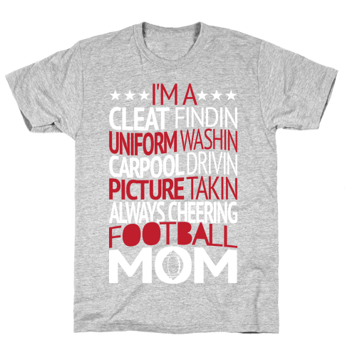 Football Mom Mens T-Shirt
