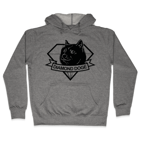 Diamond Doge Hooded Sweatshirt