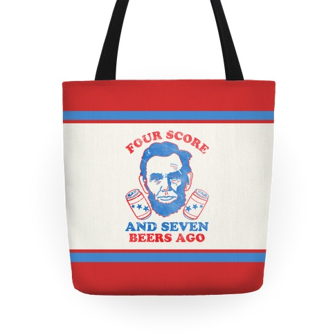 Four Score and Seven Beers Ago Tote