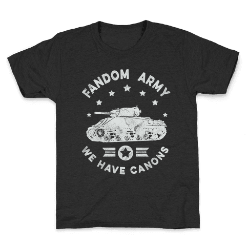 Fandom Army Kids T-Shirt