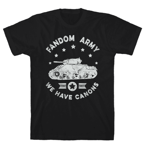 Fandom Army Mens T-Shirt