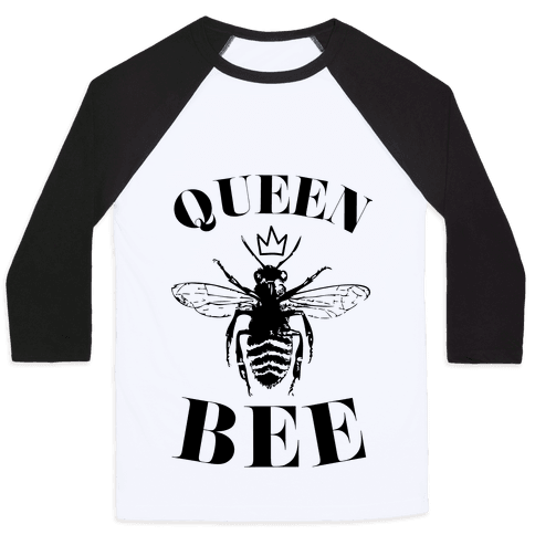 Queen Bee (Illustration) Baseball Tee
