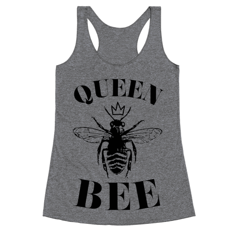 Queen Bee (Illustration) Racerback Tank Top