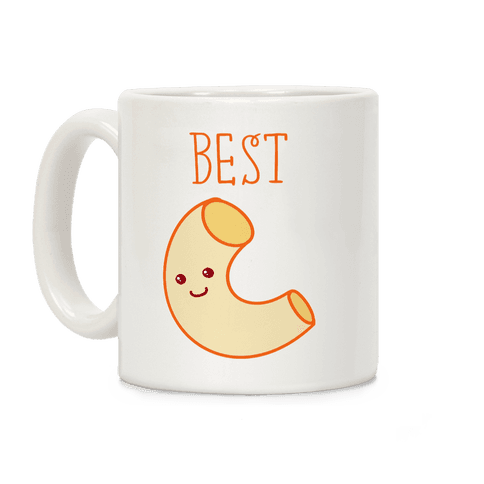Best Friends Macaroni and Cheese 1 Coffee Mug