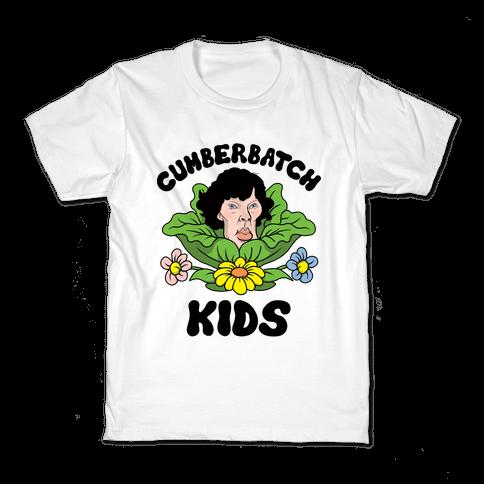 Cumberbatch Kids Kids T-Shirt