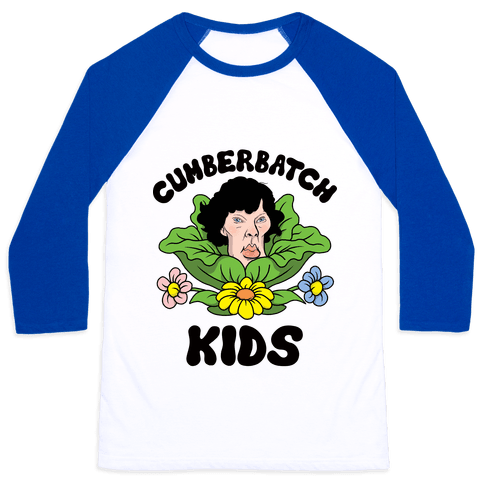 Cumberbatch Kids Baseball Tee