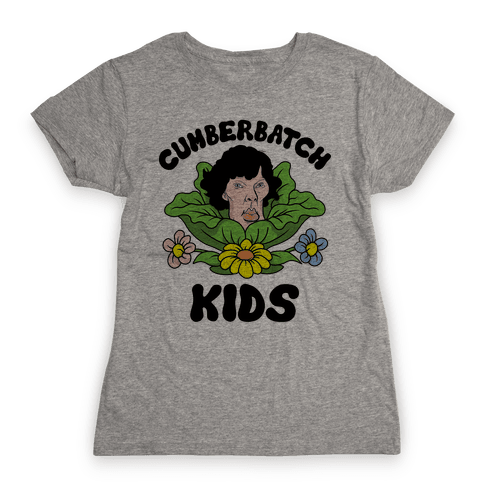 Cumberbatch Kids Womens T-Shirt
