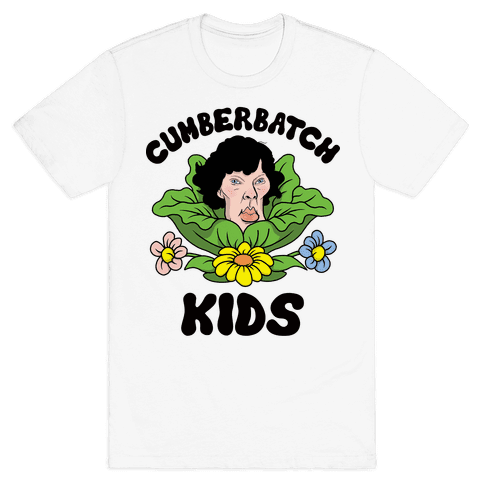 Cumberbatch Kids Mens T-Shirt