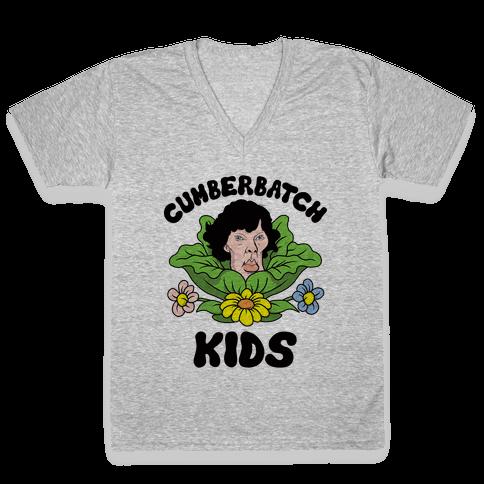 Cumberbatch Kids V-Neck Tee Shirt