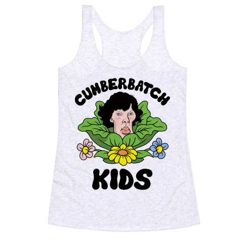 Cumberbatch Kids Racerback Tank Top