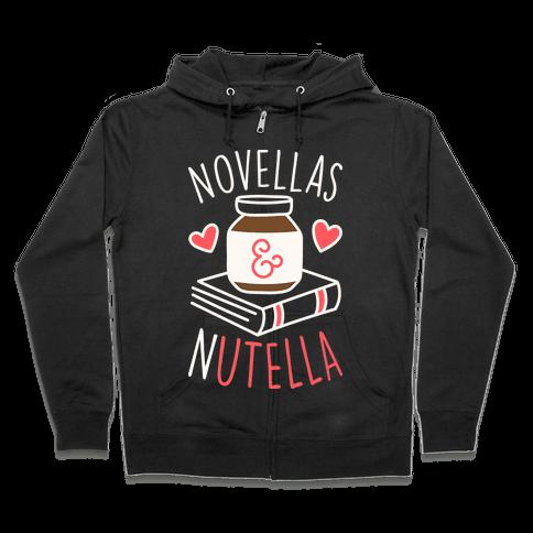 Novellas & Nutella Zip Hoodie