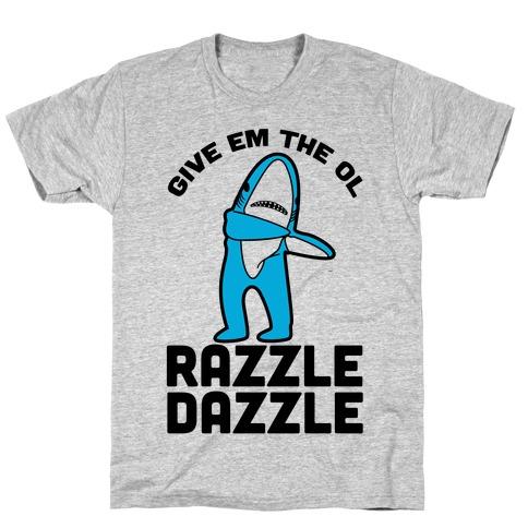 Left Shark Razzle Dazzle T-Shirt
