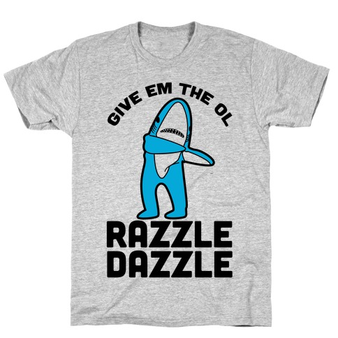 Left Shark Razzle Dazzle T-Shirt