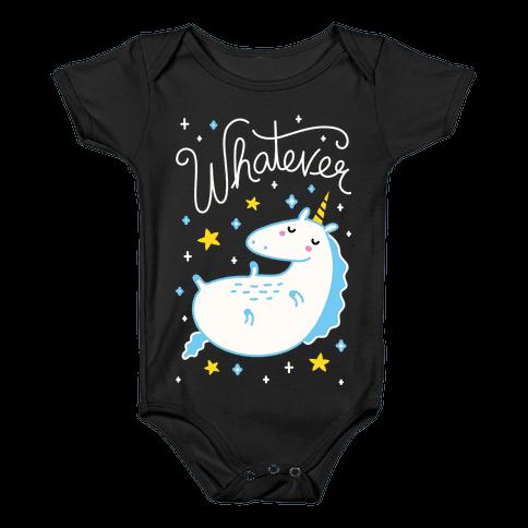 Whatever Unicorn Baby Onesy