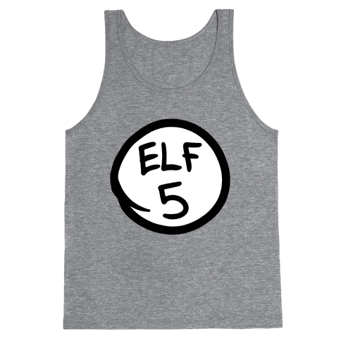 Elf Five Tank Top