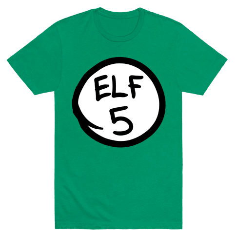 Elf Five Mens T-Shirt