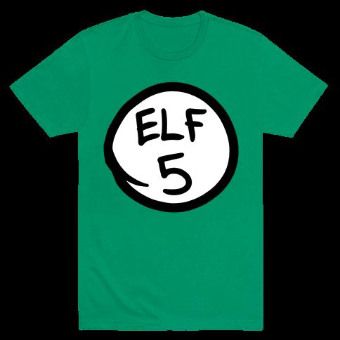Elf Five Mens T-Shirt