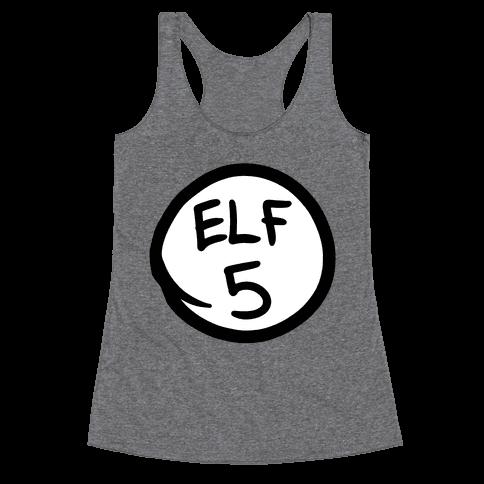 Elf Five Racerback Tank Top