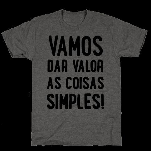 Vamos Dar Valor as Coisas Simples