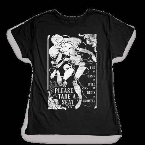 Death Parade Doll Womens T-Shirt